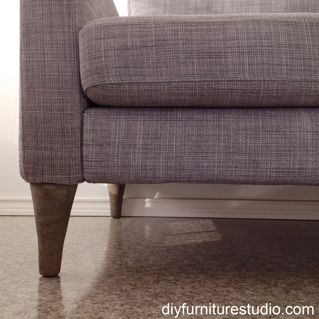 DIY Cement Replacement Sofa Legs for IKEA and Other Brands – DIY