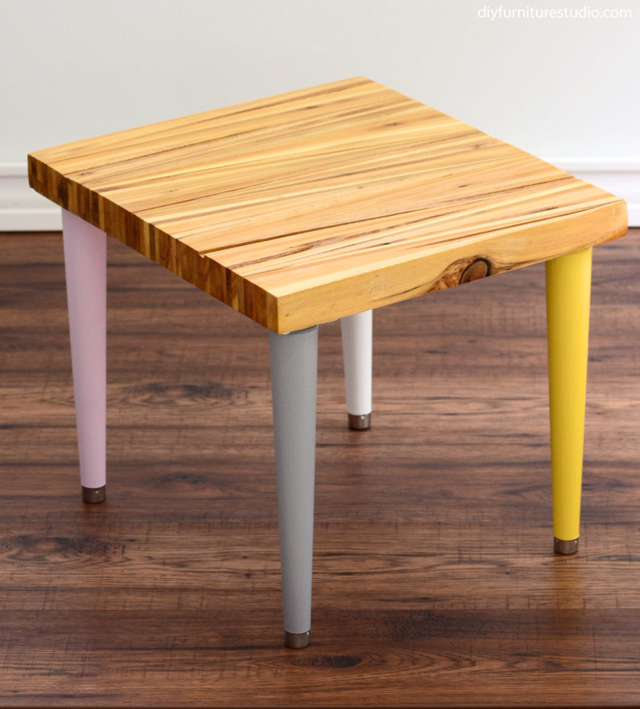 Waddell Legs With Wood Shim Table Top