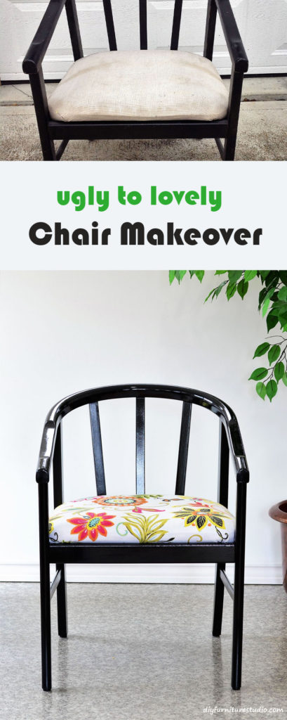 Ugly to Lovely Chair Makeover.